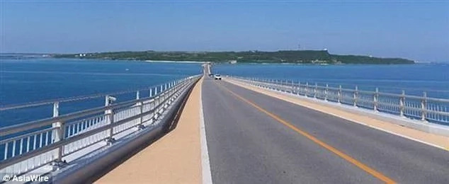 The man proposed along this bridge in Okinawa, Japan. Photo: AsiaWire