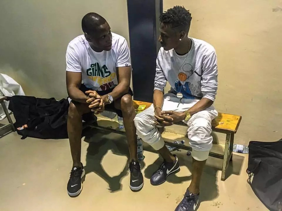 Octopizzo recently was pictured with a NBA executive after signing lucrative deal