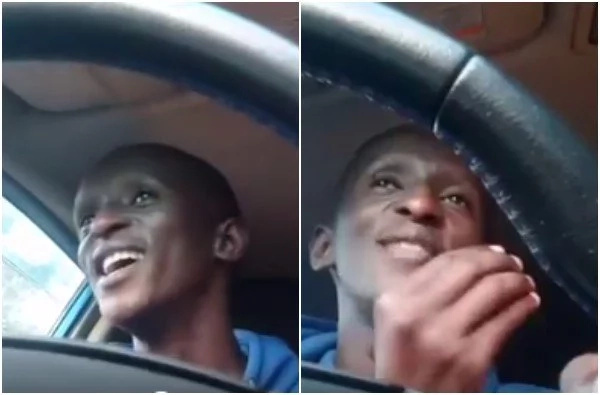 Njugush embarrasses himself after being given a lift by a lady