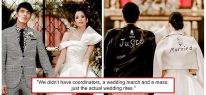 Sobrang simple lang ng unang kasal! Maxene Magalona shares why they decided to have a secret church wedding first