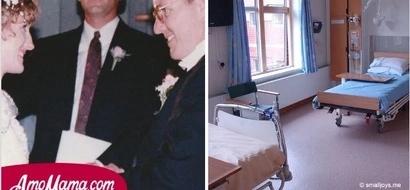 Esposo regresó a la sala y se dio cuenta que su esposa había salido del coma y desaparecido