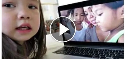 Netizens cry after watching this sweet video of 3-year-old Julianna; bless her!