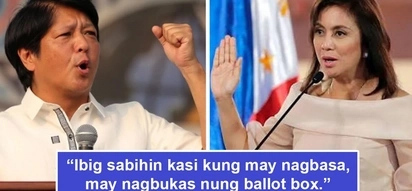 May nagbukas daw! Bongbong Marcos cries foul, alleges ballot boxes were opened after finding wet ballots