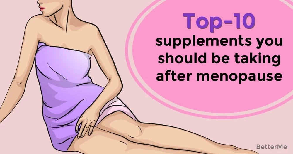 Top-10 supplements you should be taking after menopause