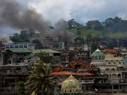 Weeks after the intense war, Task Force Bangon Marawi is formed to rehabilitate war-torn city