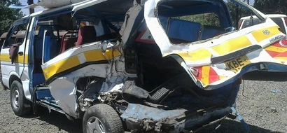 7 dead in grisly night accident as matatu rams into lorry on Nakuru - Eldoret highway