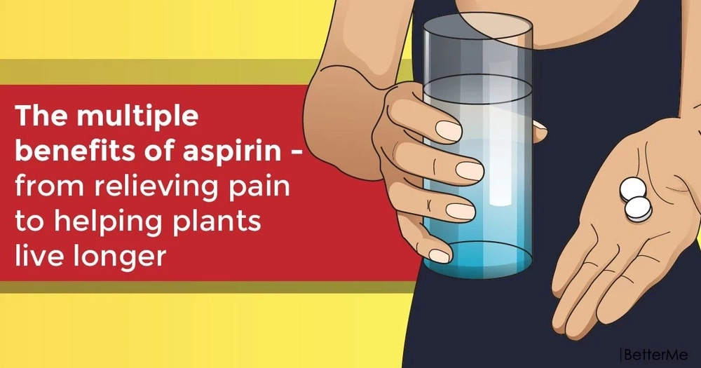 The multiple benefits of aspirin - from relieving pain to helping plants live longer