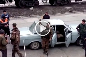 Insane video of how these Russian guys get to work