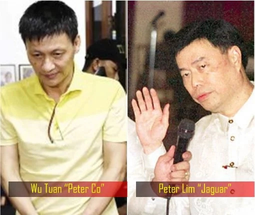 Peter 'Jaguar' Lim, 'kumpadre' of narco-general Vicente Loot