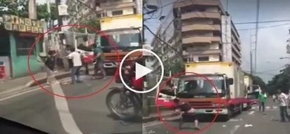 Ang tapang! Video of another road rage incident in Novaliches goes viral