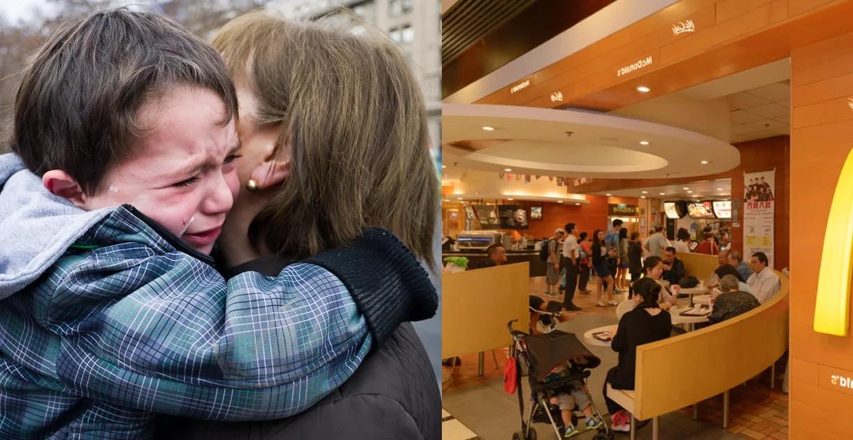 Esta madre y su pequeño hijo tenían hambre y fueron humillados en McDonalds. Pero sucedió algo asombroso que nadie esperaba…
