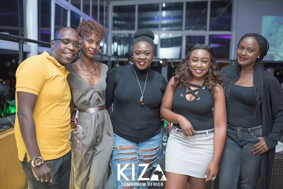 Joho and Betty Kyalo party pictured partying at the same club
