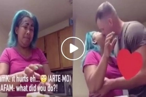 Eksenadora talaga! Madam Kilay tries to get her foreigner husband's attention in the funniest way ever