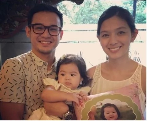 LOOK! Alwyn and Jennica Uytingco's baby Mori turns 1