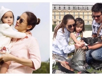 Marian Rivera on baby Zia entering showbiz in the future: 'Ayaw ko siyang mag-showbiz'