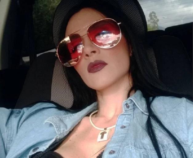 Diosa Canales calentó las redes con una selfie descarada