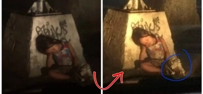 Kawawa naman! Pinoy netizen calls out for help for this young and tired sampaguita seller