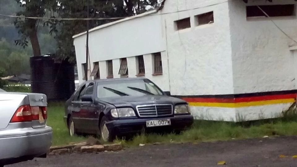 Jacob Juma's car gathering dust 1 year after he was gunned down (photo)
