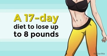 Try 17-day diet to lose up to 8 pounds