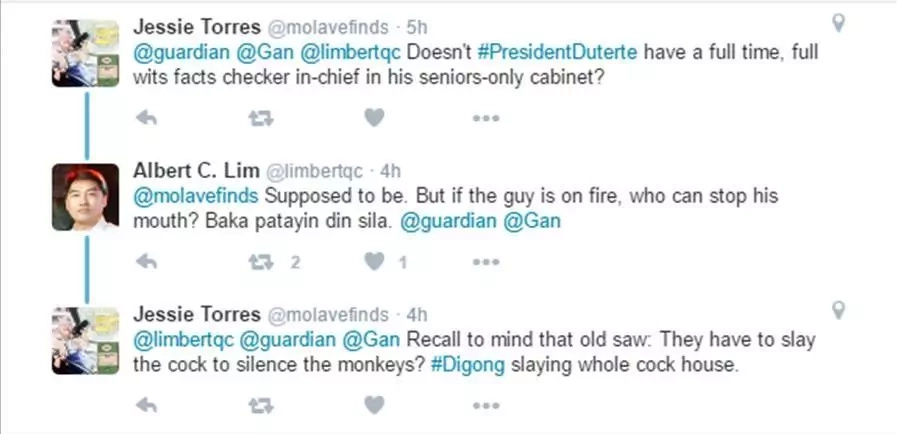 Netizens and politicians react to Duterte's 'narco' list