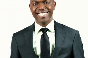 NTV host Larry Madowo anchors news while wearing a tie and underwear (photo)