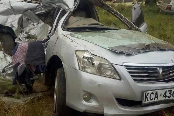 Jubilee MP's bodyguard perishes in Thika Road accident