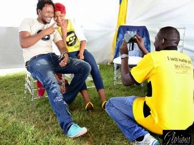 DJ Mo introduces his two sexy sisters to Kenyans on Mashujaa day