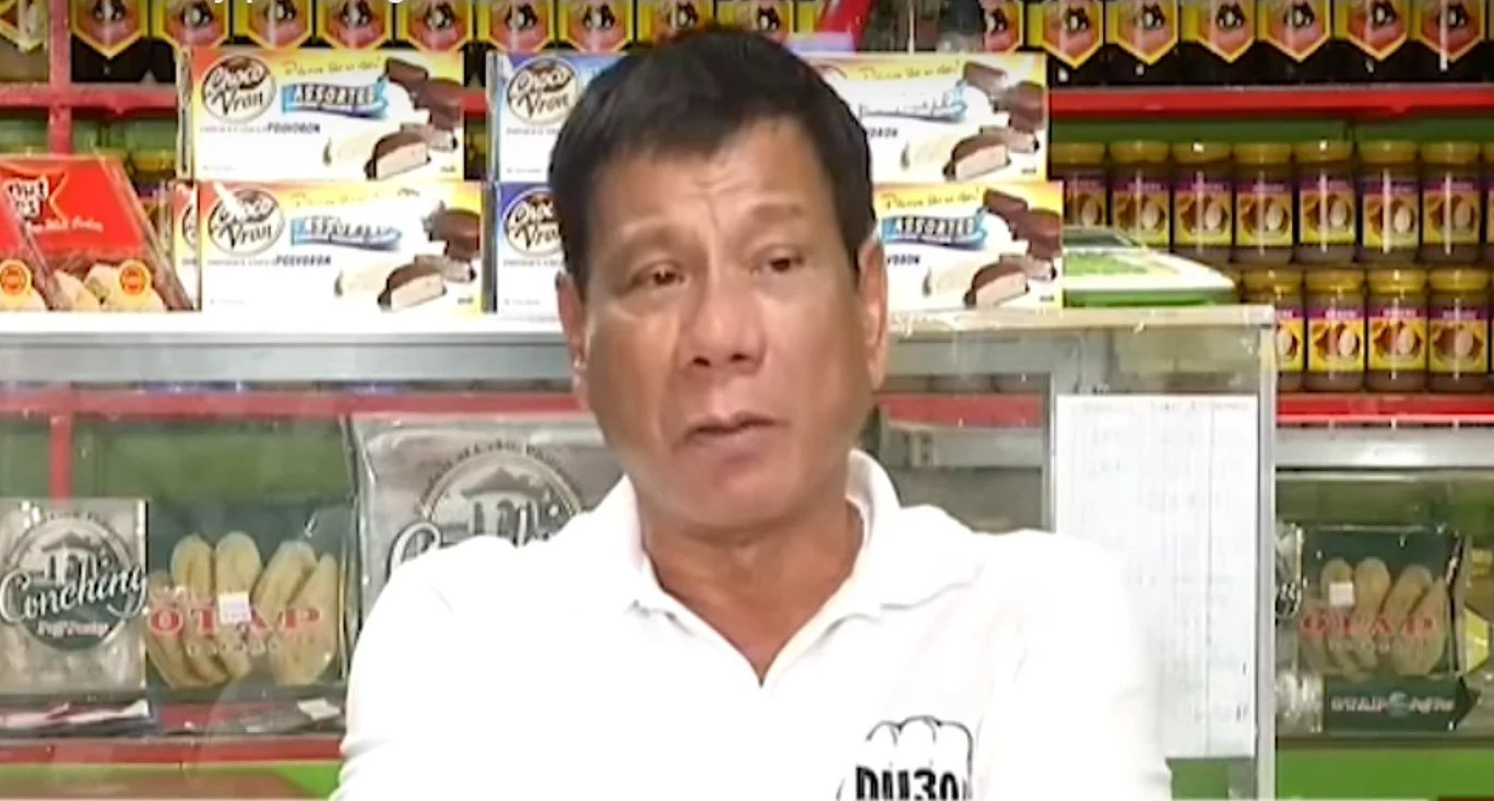 WATCH: Duterte targets PH population