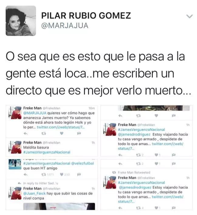 James Rodríguez amenazado de muerte