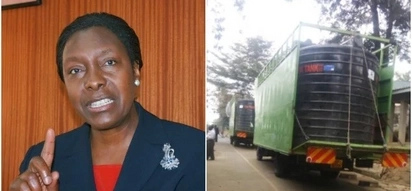 So cool! Charity Ngilu's generous use of the money she refused to use in her inauguration is humbling