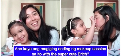 "Ang cute ng magkapatid! Dani Barretto's youngest sister Erich makes her YouTube debut as a ""makeup artist"""