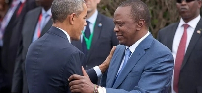 Uhuru tells Obama to come to Kenya ASAP and this is his reason
