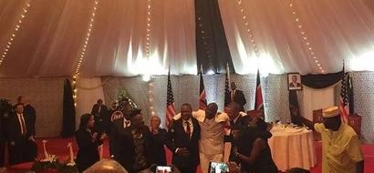 VIDEO, PHOTOS: Barack Obama Dances To Sauti Sol's Sura Yako
