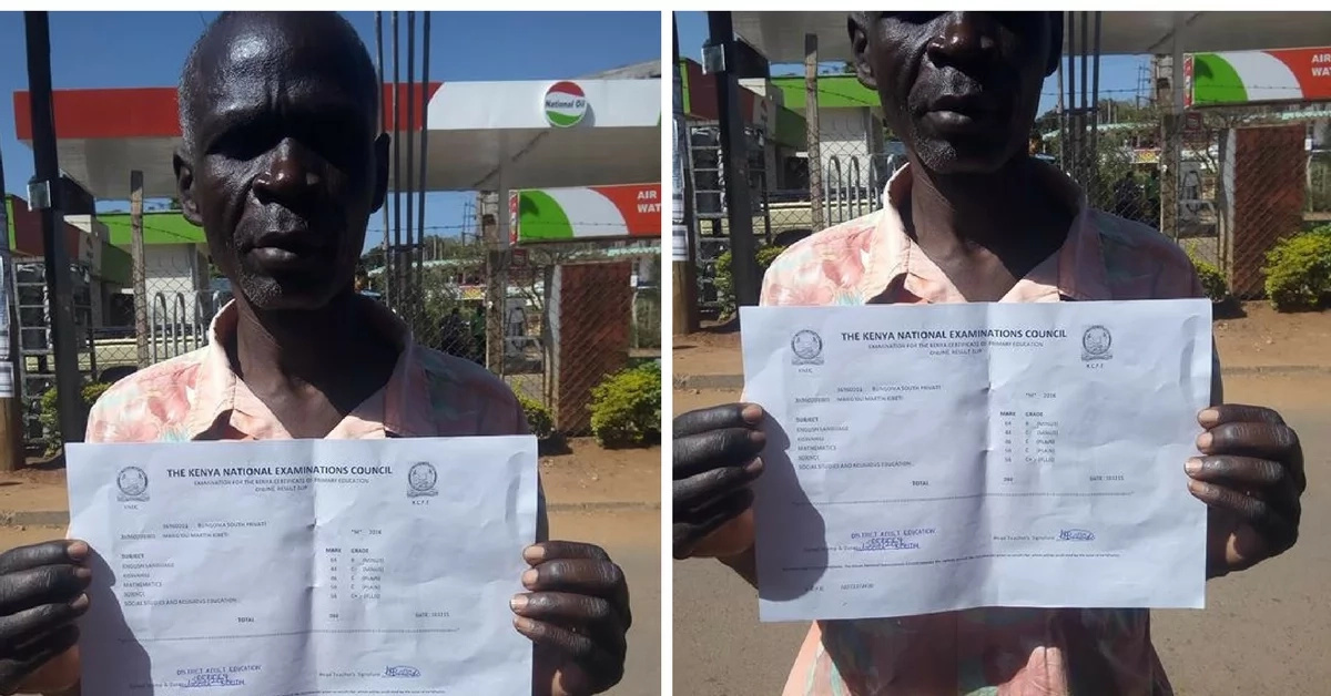 This 50-year-old father of nine needs help to join form one in 2017 (photos)