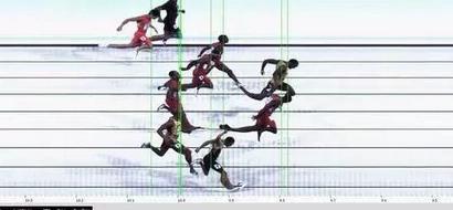 PHOTOS: See How Close Usain Bolt Won His 'Hardest' Ever 100m Race