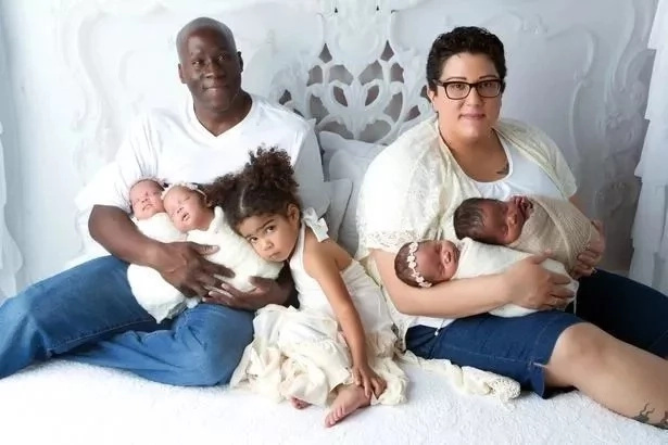 Mama aliyeponea kansa na kupoteza mimba apata watoto 4 kwa mpigo