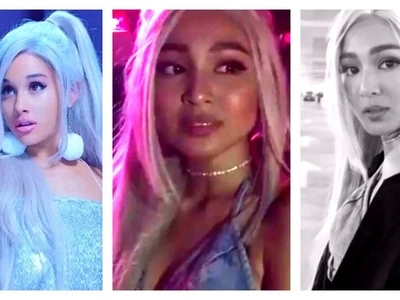 Pinagkaguluhan talaga! Epic video of fans going crazy over Nadine Lustre at Ariana Grande's concert goes viral!