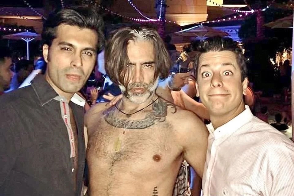Novia de Alejandro Fernández habló por su foto en un bar gay