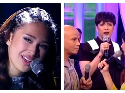 Nagmana sa daddy niya! Isabela Vinzon wows Vice Ganda by showing off her acting talent on Gandang Gabi Vice!