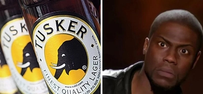 Eldoret lawyer shocked to find a used condom inside his Tusker (photo)