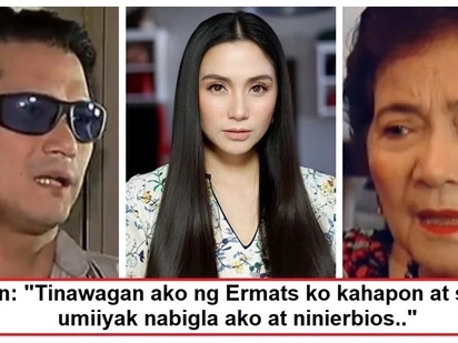 Iniyakan ng ina dahil kay Mariel! Robin Padilla recounts the time his mother Eva Cariño cried on the phone because of Mariel Padilla