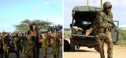 Al-Shabaab parades bodies of Kenyan police officers reportedly killed