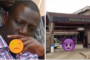 DP Ruto badly attacked following Cholera outbreak at his posh Weston Hotel