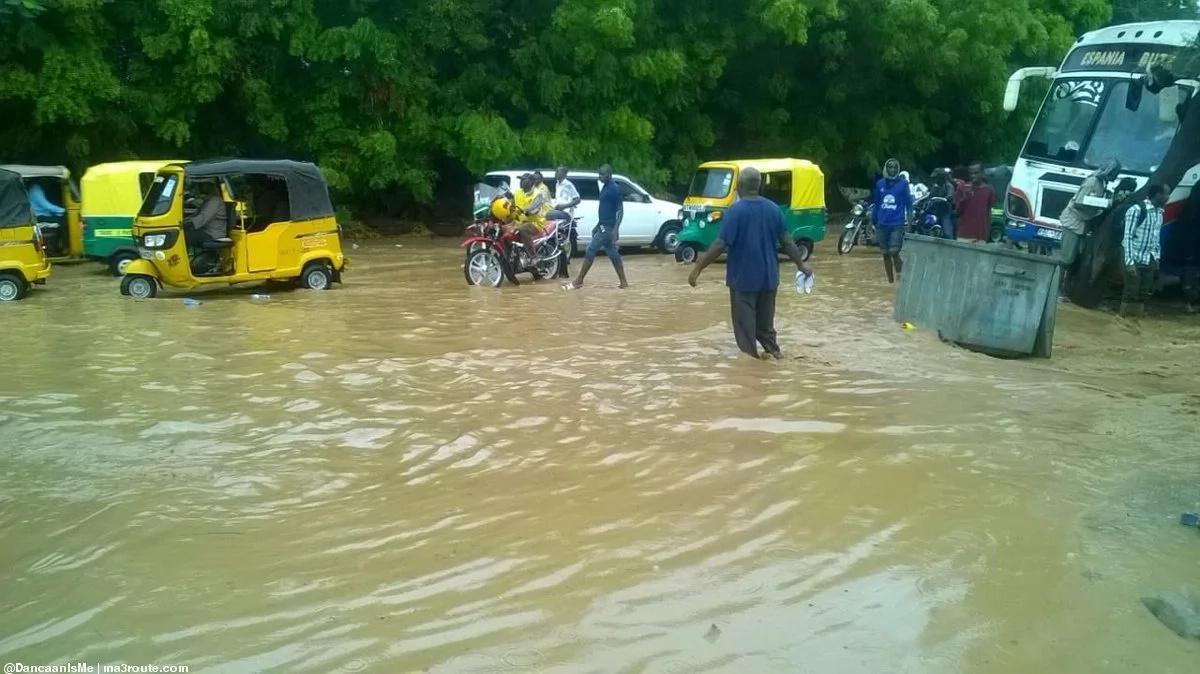 Heavy flooding, huge traffic jams as rains cause havoc