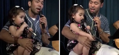 Cute na, magaling pa! Scarlet Snow Belo showcases singing prowess as she jams with Daddy Hayden to John Legend's 'All of Me!'