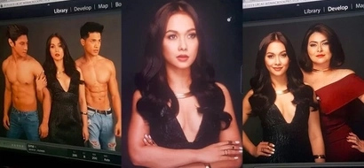 Maja Salvador is sizzling for the photoshoot of her newest show with Joseph Marco
