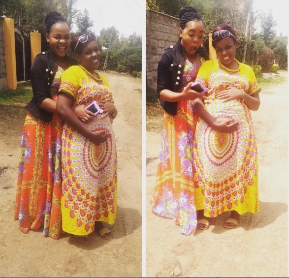 Celestine Ndinda, top comedian's fiancee shows off baby bump