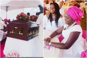 Emmy Kosgei's mother finally laid to rest (photos)
