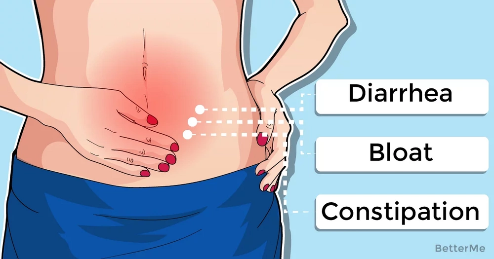 3 stomach problems and their symptoms