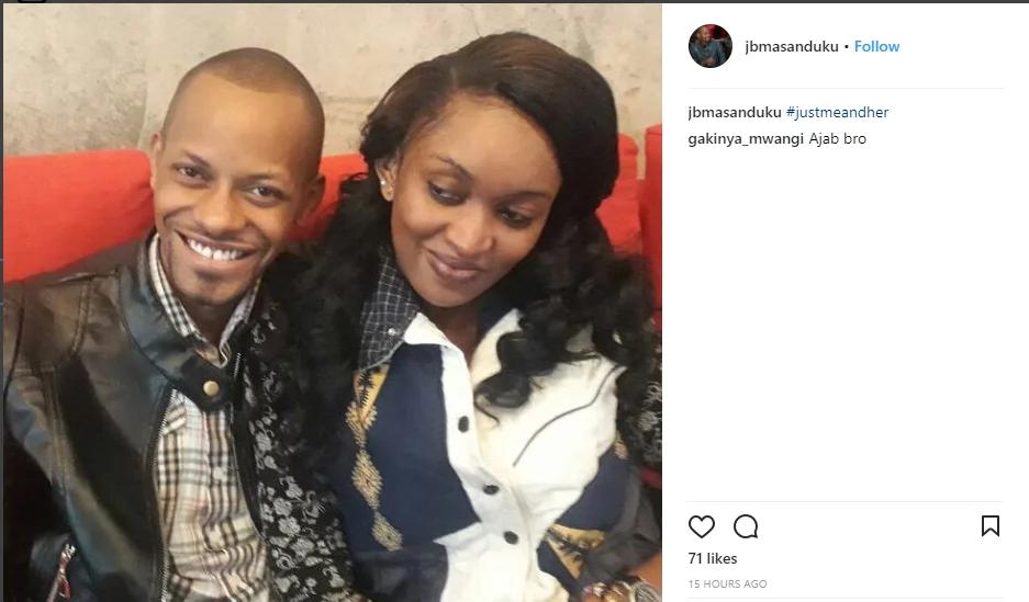 JB Masanduku unveils new catch after dramatic fall out with Tina Kagia